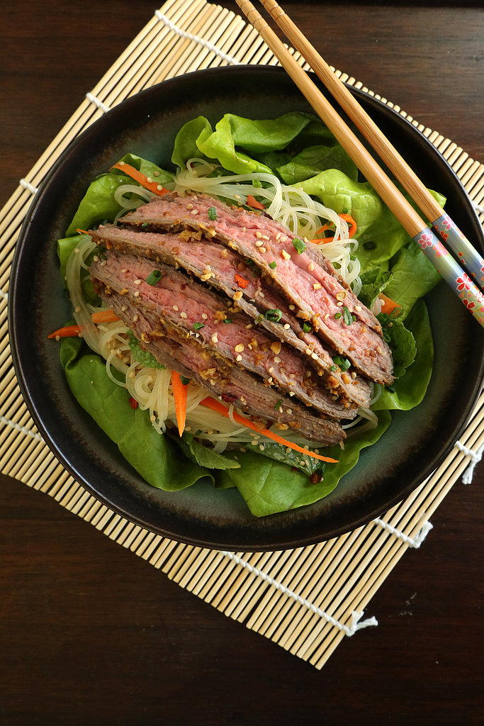 Asian Noodle Salad With Flank Steak