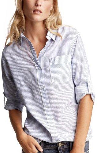 Plain White button down Shirt
