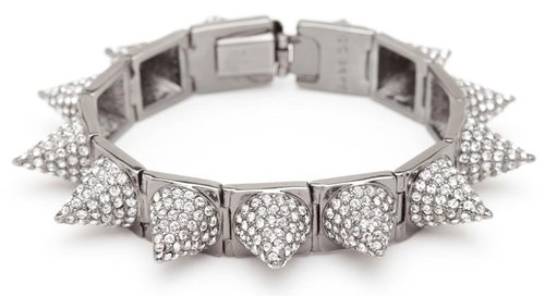 Pave Punk Princess Spike Bracelet