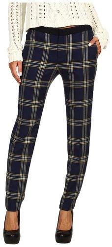 Juicy Couture - Eton Plaid Pant (Regal Eton Plaid) - Apparel