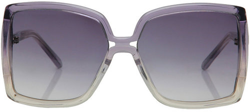 Bi-Coloured Zyl Frame Sunglasses