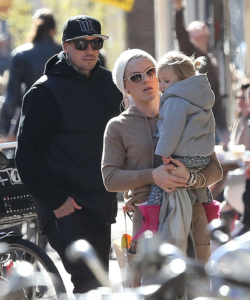 Pink and Carey Hart took their daughter, Willow, sightseeing in Amsterdam.