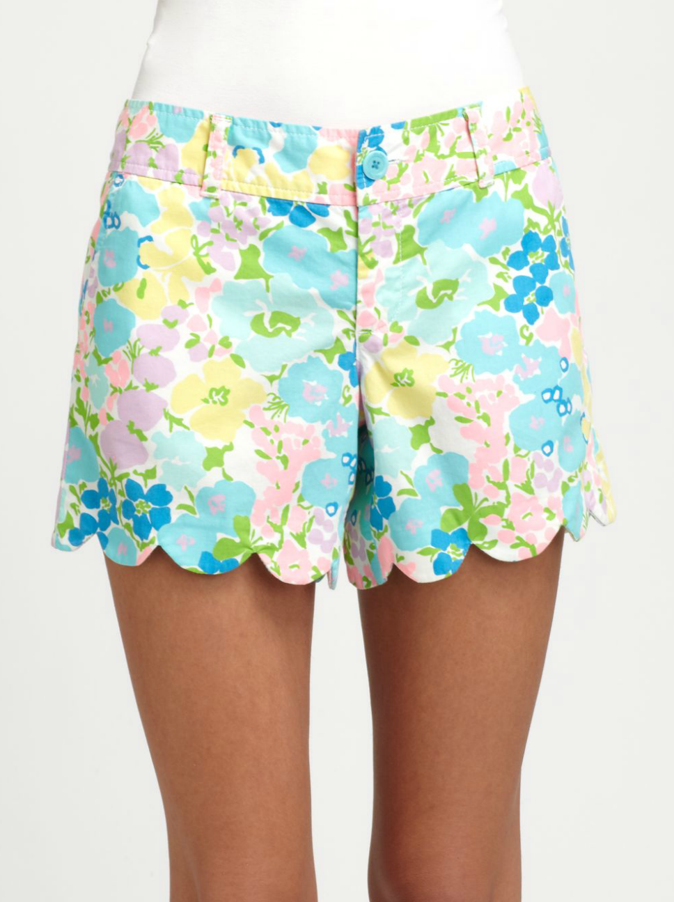 Don these adorable floral Lilly Pulitzer Buttercup Shorts ($51, originally $68) with a crop top and espadrilles for your next weekend beach jaunt.