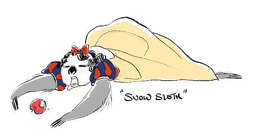 Sloth Snow White