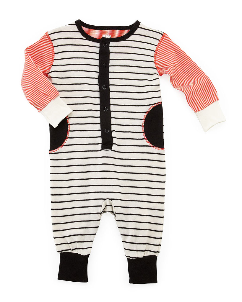 This striped sleeper ($22, originally $30) offers a cozy, relaxed look for Spring.
