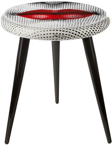 Fornasetti 'Bocca' stool