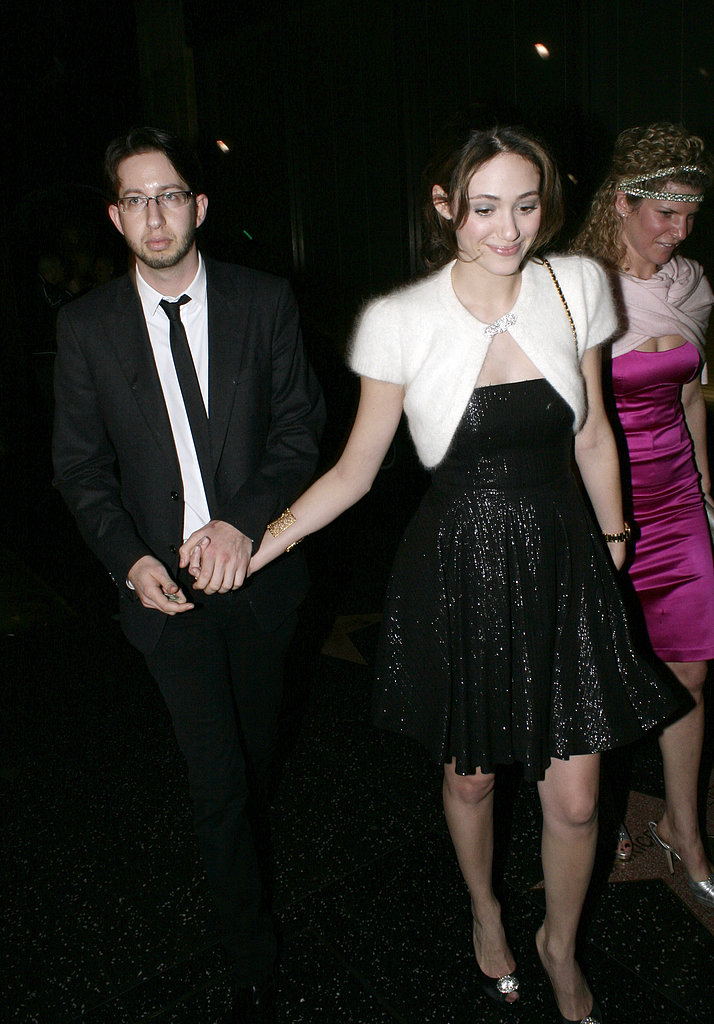 Emmy Rossum made it official when she secretly married her music producer boyfriend Justin Siegel in February 2008 but could not keep her relationship status confidential when Justin filed for divorce in September 2009.