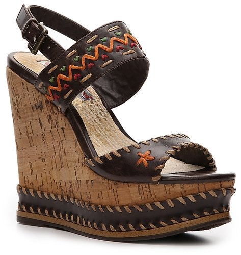 Two Lips Clever Wedge Sandal
