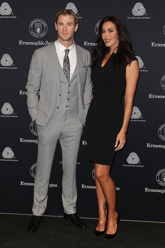 Chris Hemsworth and Megan Gale