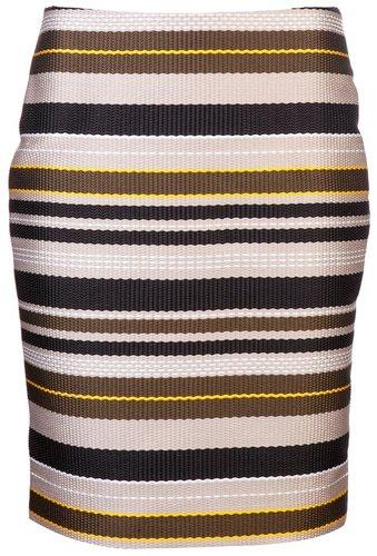 Jenni Kayne Multi stripe pencil skirt