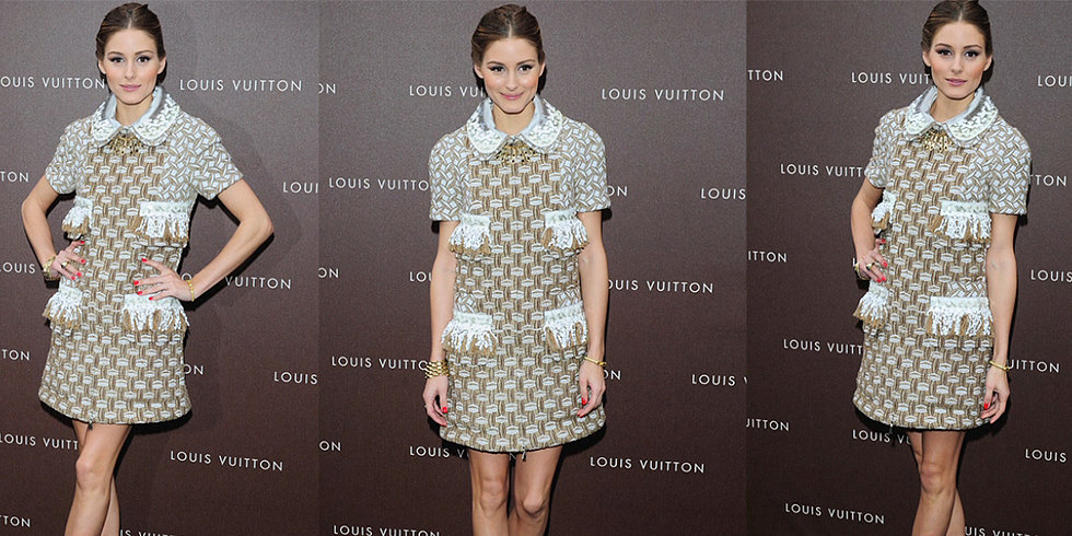 Olivia Palermo Goes Mod at the Louis Vuitton Maison Opening