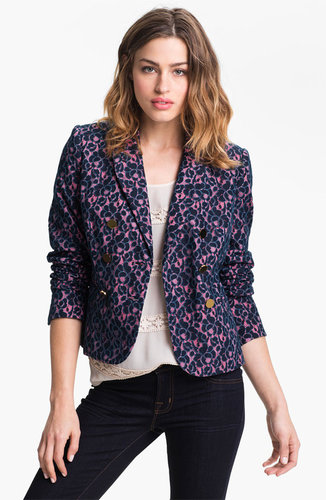 Juicy Couture Double Breasted Lace Blazer