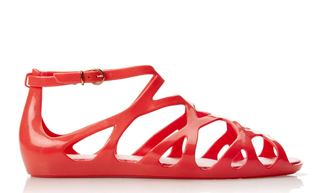 Brazilian shoe brand Melissa teamed up with Forever 21 on a summery sandal collection officially called Mel For Forever 21. The lineup of colorful jellies includes thong styles as well as more traditional gladiator versions in slick red, navy, black, and white. Of course, the most enticing selling point may be the price, which is — in line with Forever 21 — very affordable. You can shop the collection here and now.
