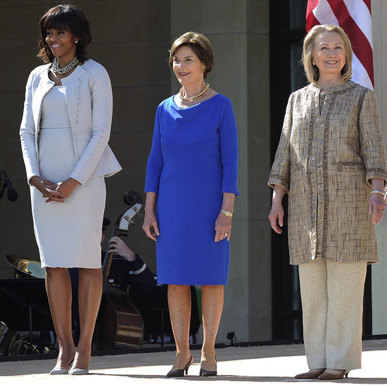 Past First Ladies Together at Bush Library