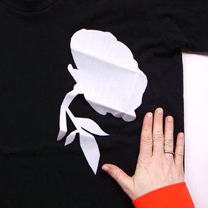 DIY Floral Applique Shirt   Video