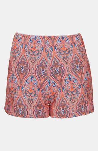 Topshop Paisley Shorts
