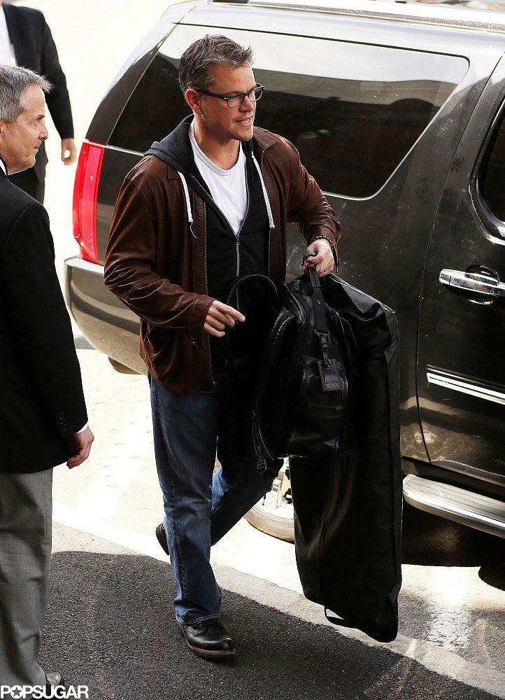 Matt Damon Returns to His Alma Mater For a Special Award