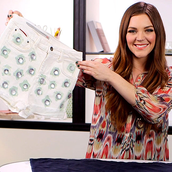 How to Add Rhinestones to Shorts | Video