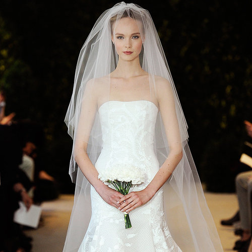 Bridal Fashion Week Spring 2014 showed off another season of stunning aisle-worthy confections, all thanks to Vera Wang, Reem Acra, Monique Lhuillier . . . and the list goes on. Head to POPSUGAR Style & Trends to see the latest wedding-dress fare straight from the runways!