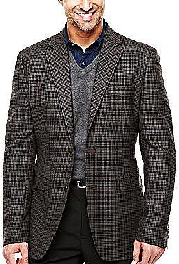 Stafford® Essentials Lambswool-Rich Sport Coat - Big & Tall