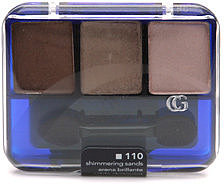 CoverGirl Eye Enhancers 3 Kit Eye Shadow, Shimmering Sands 110