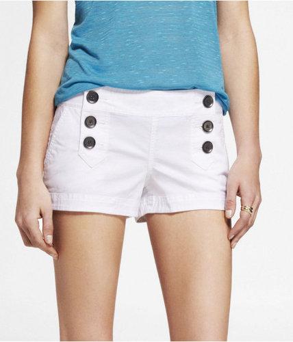 """2"""" Stretch Cotton Sailor Shorts"""