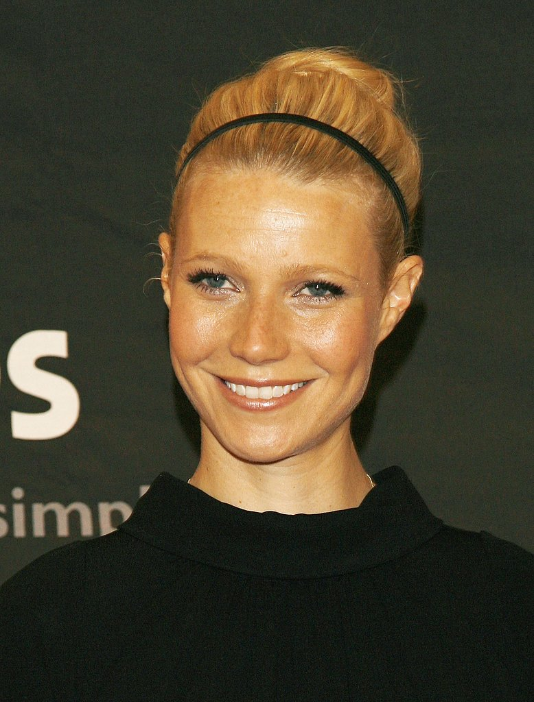 Gwyneth Paltrow may be the world's most beautiful woman, but it was this basic headband and bun combination that won your hearts in our hair retrospective.
