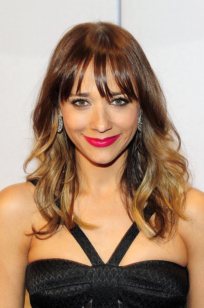 Our followers are taking inspiration from Rashida Jones's bright fuchsia lip for their Spring makeup palette.