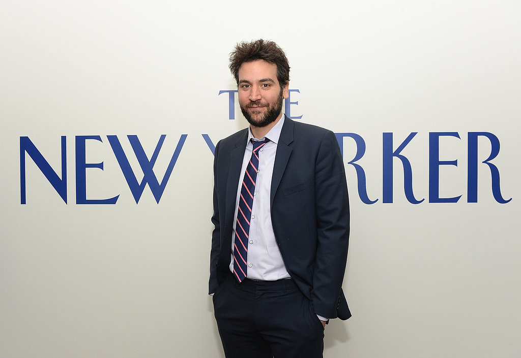 Josh Radnor hung out at The New Yorker's party.