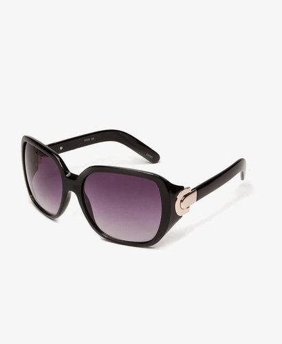 FOREVER 21 F5963 Oversized Square-Frame Sunglasses