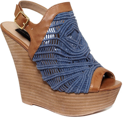 STEVEN by Steve Madden Shoes, Jacckks Platform Wedge Sandals