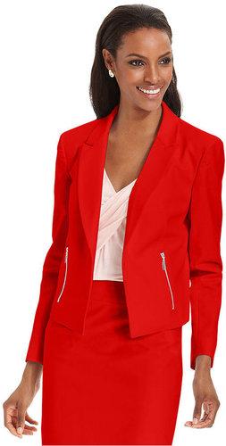 Grace Elements Jacket, Cropped Open-Front Blazer