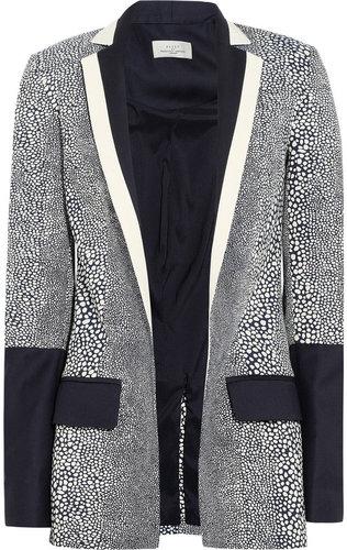 Preen by Thornton Bregazzi Stingray jacquard blazer