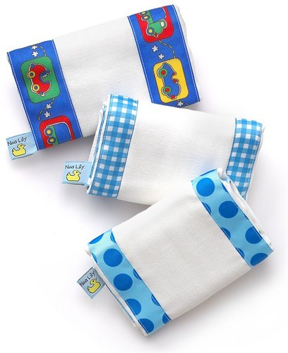 "Noa Lily Infant Boys' Burp Cloth Set - 14""x 20"""