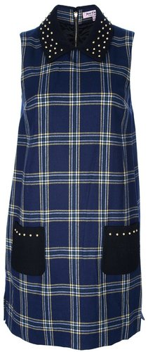 Juicy Couture plaid shift dress