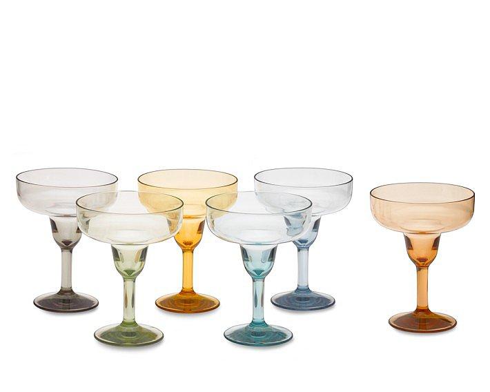 Duraclear Margarita Glasses