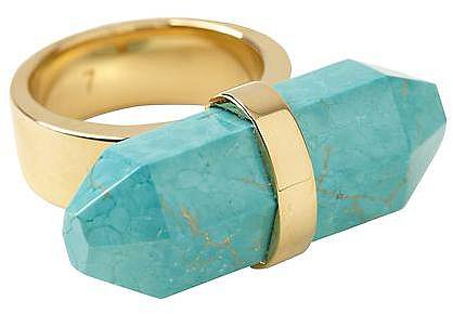 Michael Kors Geode Quartz Ring