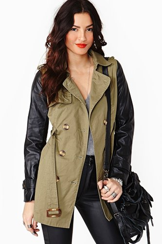 Double Trouble Trench Coat