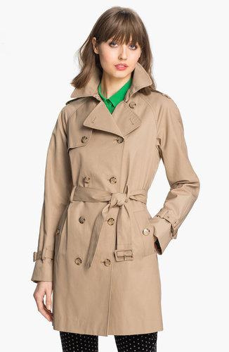 Calvin Klein 'Legacy' Poplin Trench Coat