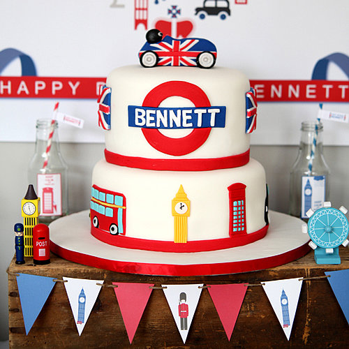 British Kids' Birthday Party