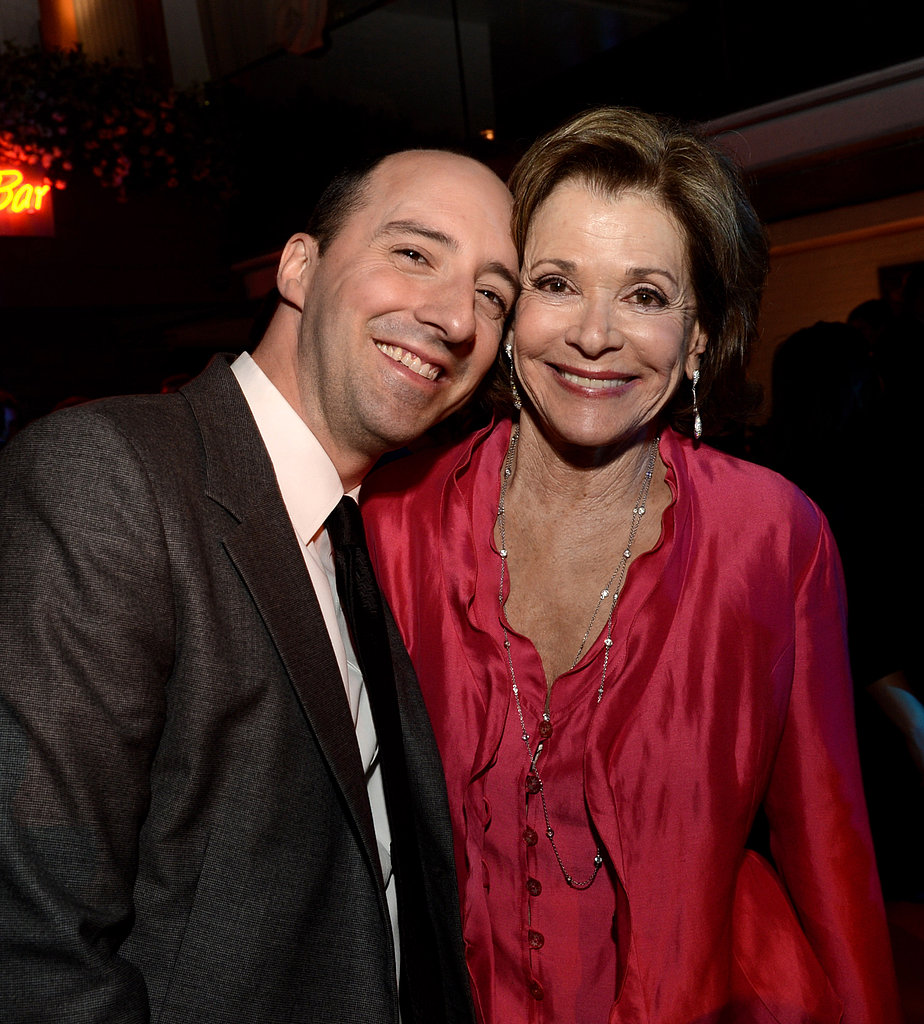 Tony Hale and Jessica Walter partied after the premiere.