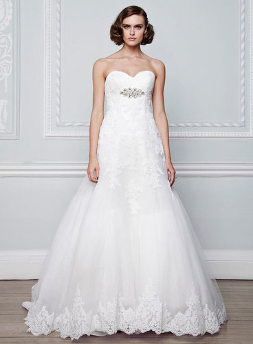 Octavia Lace Ivory Bridal Dress
