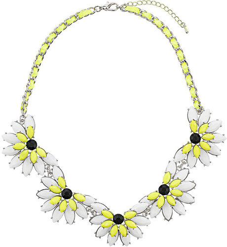 Lime Flower Collar