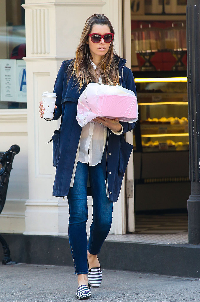 If you're in the market for a pair of classic jeans, we think Jessica Biel's Paige Premium Denim skinny ankle jeans ($119, originally $199) are a wonderful option. The price is unbeatable, and we also dig the subtle fade and the long ankle zips.