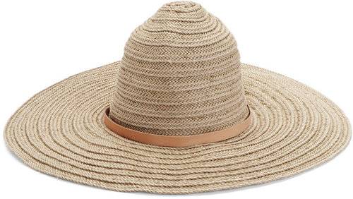 Braided Beach Hat - Natural