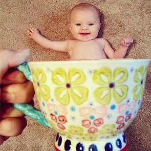 Baby Mugging Instagram Trend