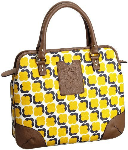 Orla Kiely Floating Flower Print Small Jeanie 13SBFFL065-7010-00 Shoulder Bag