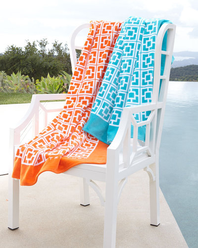 Trina Turk Palm Springs Block Beach Towel