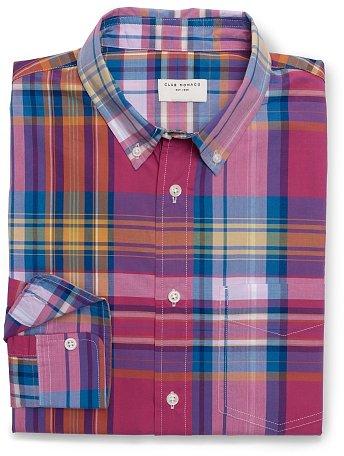 Slim-Fit Owen Plaid Shirt