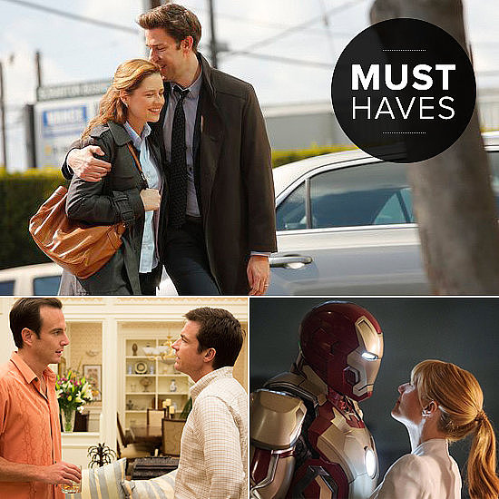 POPSUGAR Entertainment recommends making serious moves to the movie theater this month due to Iron Man 3's theater release. Plus, the television scene could have you glued to your couches with Arrested Development's new season and the latest installation of The Bachelorette. Check out the month's big- and small-screen must sees.